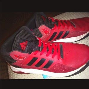 Red adidas never worn!